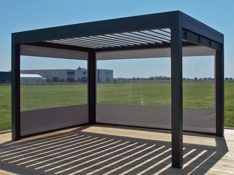 pergola maison pergola bois fait maison pergolas kiosques1 fabulous pergola lames orientables. Black Bedroom Furniture Sets. Home Design Ideas