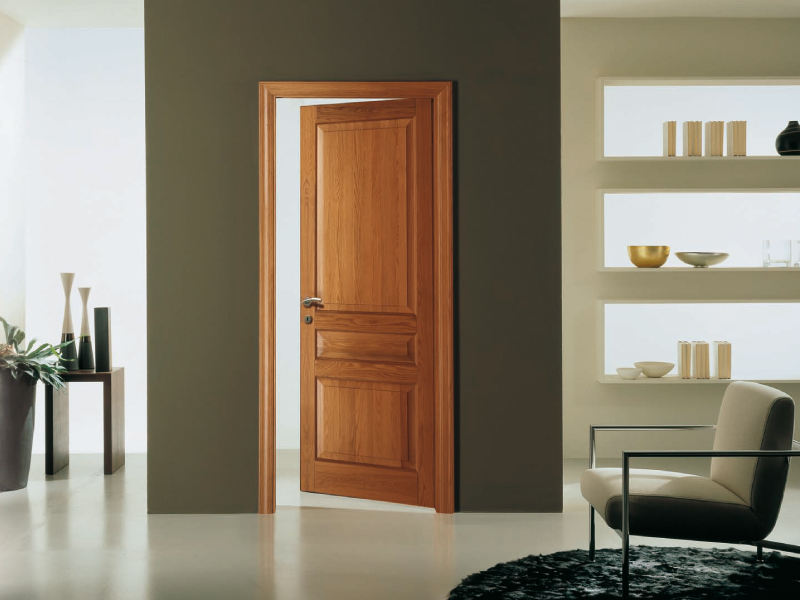 Portes d 39 int rieur bois galandage coulissante neuf for Decoration porte d interieur